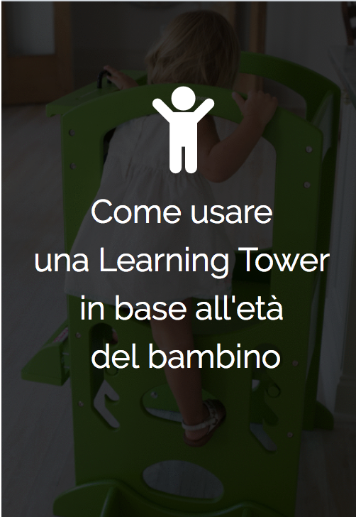 Come costruire una Learning Tower fai da te?
